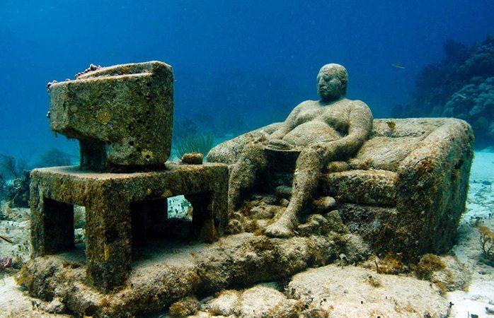 Cancun Underwater Museum MUSA