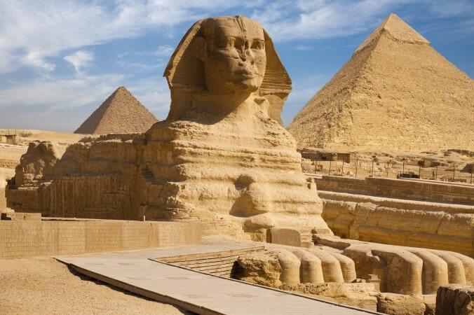 pyramid-sphynix