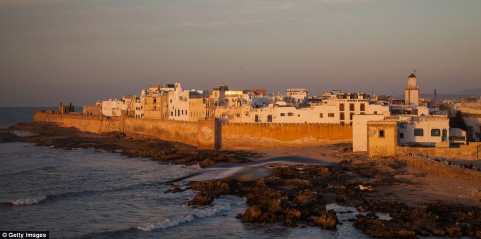 Essaouira in Morroco is a UNESCO World Heritage Site
