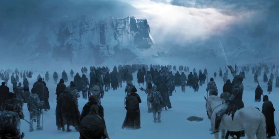 Land Beyond The Wall - Game Of Thrones