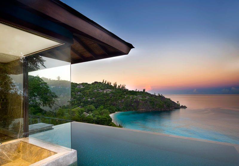 Poolvilla-Seychelles